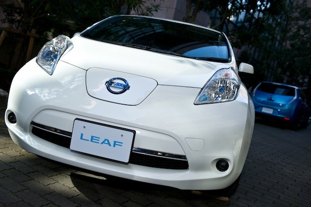 Nissan Leaf's Japanese model