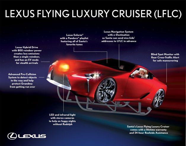 lexus flying luxury cruiser lflc