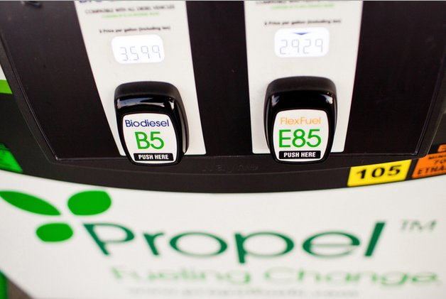 propel biofuel station pump