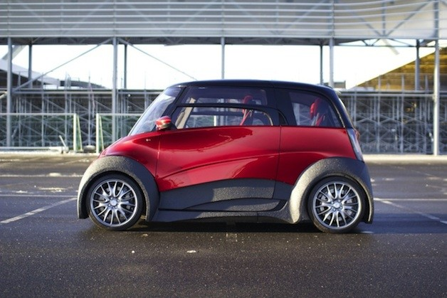 Qbeak city EV prototype