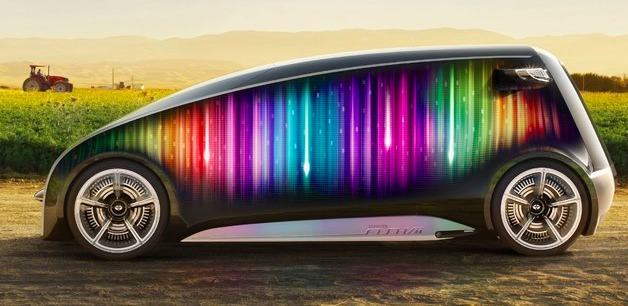 Toyota Fun Vii Rainbow Concept Pops Up On Facebook Has