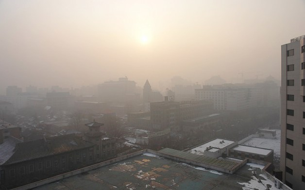 beijing window pollution