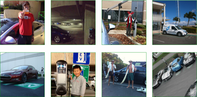 chargepoint holiday photo contest