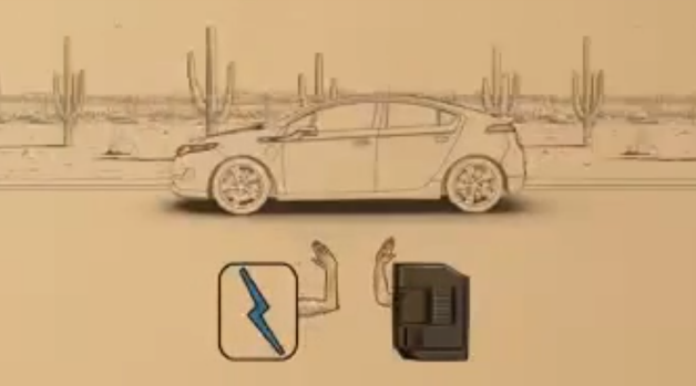 chevy volt qr code video