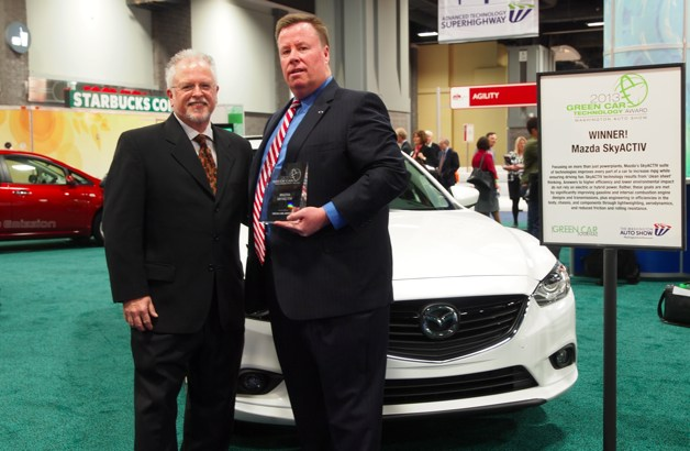 ron cogan Mazda Skyactiv Green Car Technology Award