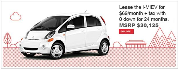 mitsubishi i cheapest lease obrien illinois