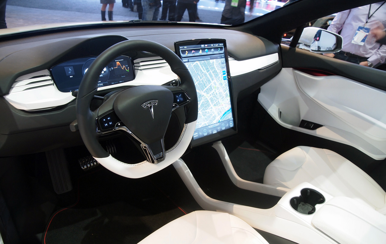 salon de detroit 2013 tesla model x dark cars wallpapers. Black Bedroom Furniture Sets. Home Design Ideas