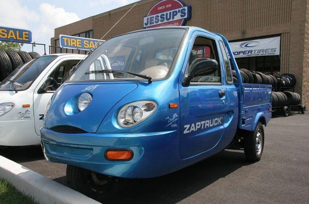 zap three-wheel electric vehicle
