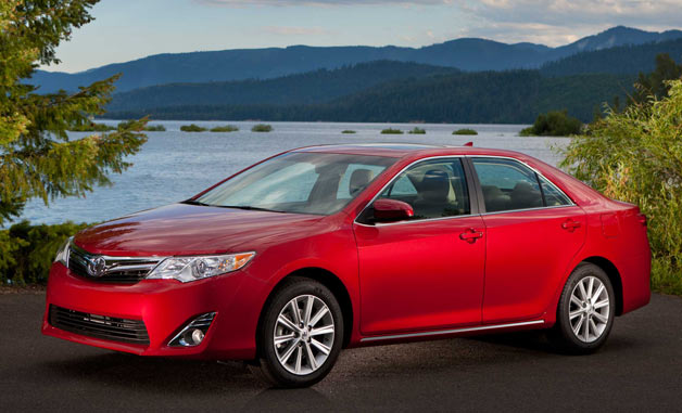 2013 Toyota Camry - front three-quarter view