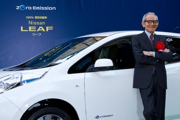 isao natsuyagi nissan leaf