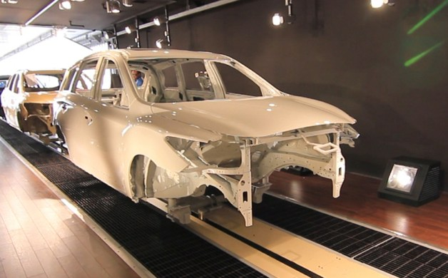 nissan smyrna paint shop