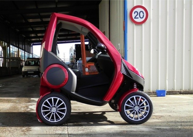 Casple Podadera folding car