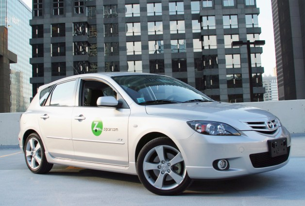zipcar mazda3