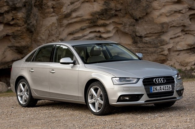 2013 Audi A4 - front three-quarter view
