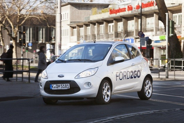 Ford of Germany's Ford2Go car-sharing service