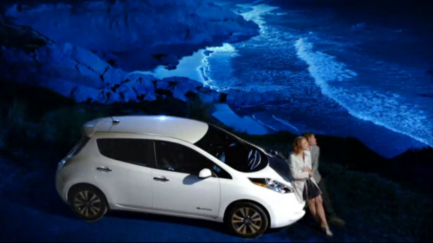 nissan leaf facts ad video