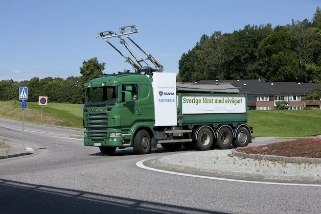 Scania/Siemens electric truck