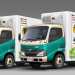 Toyota's all-electric delivery truck