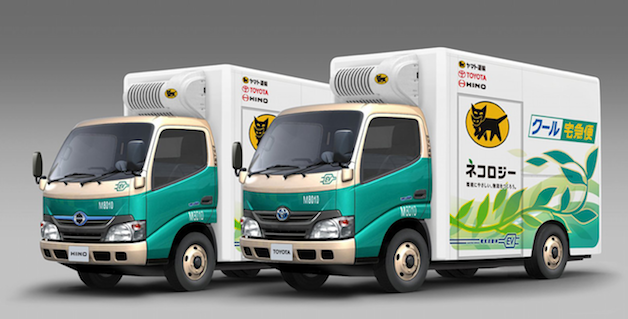 Toyota's electric delivery truck