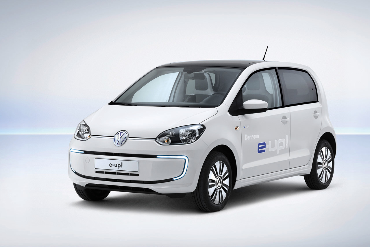 new volkswagen e up debuts with 93 mile range combined charging system autoblog. Black Bedroom Furniture Sets. Home Design Ideas