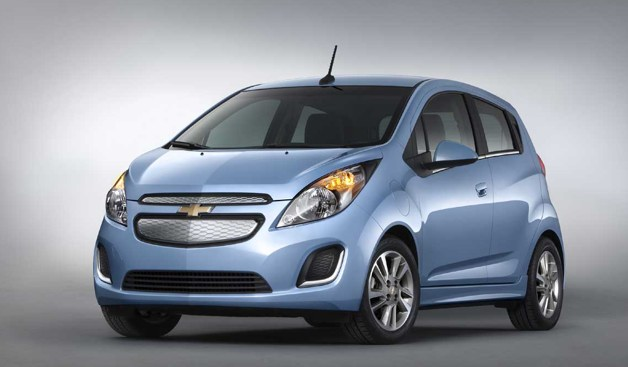 Chevrolet Spark EV - front three-quarter view