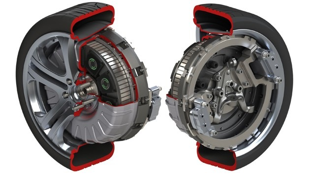 Protean Electric's in-wheel electric-drive system