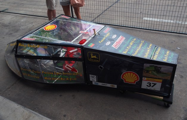 shell eco-marathon car