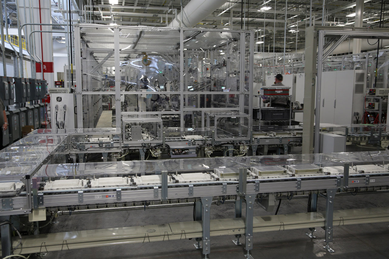 Nissan battery plant tennessee