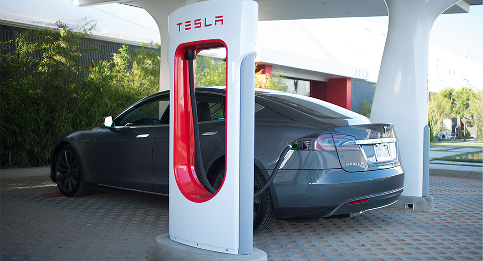 Tesla Supercharger Network Goes Nationwide Gets Quicker