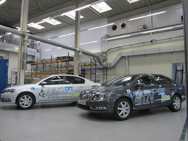 Lead-acid battery consortium's VW Passat demonstration vehicle