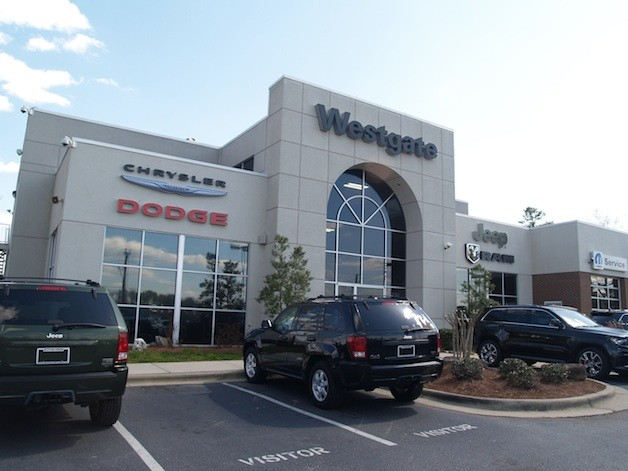 Chrysler recognizes 30 dealerships for eco practices w video for Westgate motors raleigh nc
