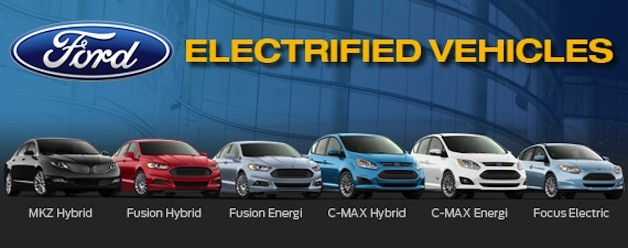 Ford's electrified-vehicle lineup