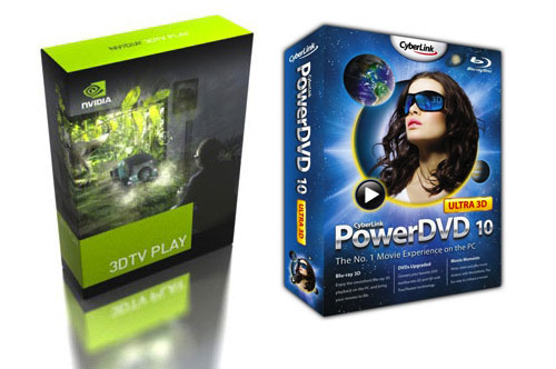 NVIDIA 3DTV Play and PowerDVD 10