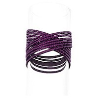 Purple bracelet