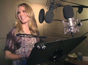 Heidi Klum voiceover