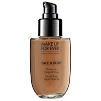 Makeup For Ever Face &amp; Body Liquid Foundation