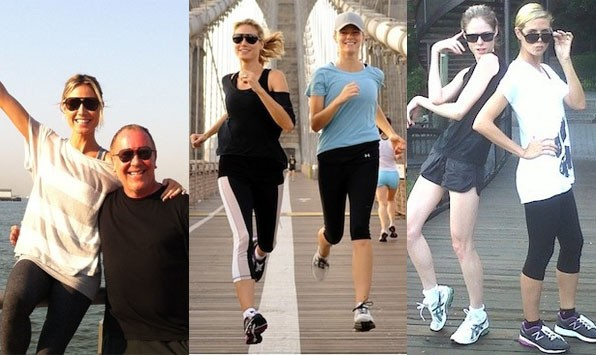 Celeb Workout Gallery