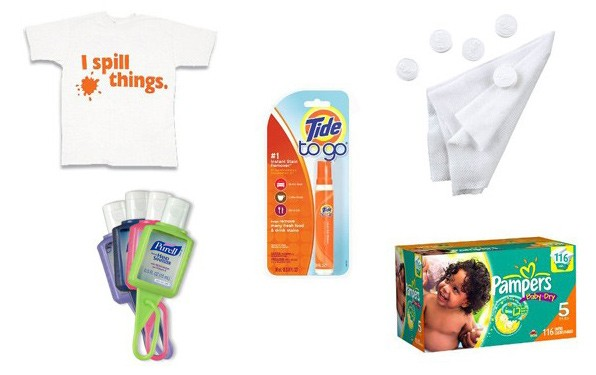 Clean-up items for messy kids