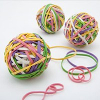 See Jane Work rubber band ball