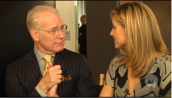 Tim Gunn and Heidi Klum in Conversations with Klum