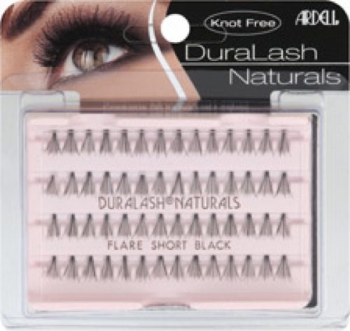 Ardell DuraLash Naturals Lashes Flare Short Black