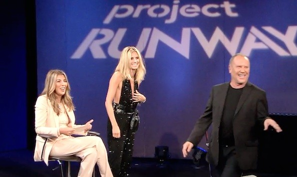 Project Runway Funny Moment