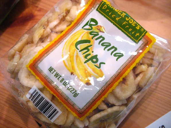 Trader Joe's Dried Banana Chips