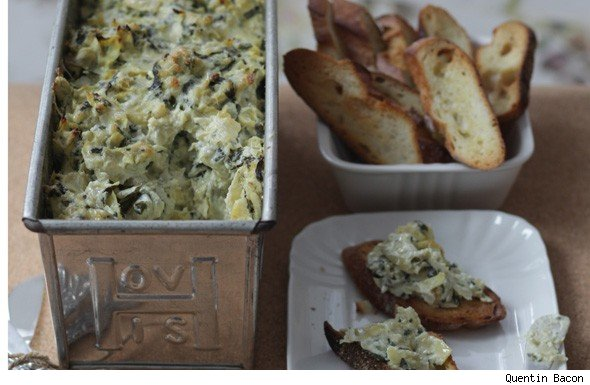 Hot Stuff Spinach Artichoke Dip