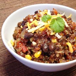 quinoa with chili