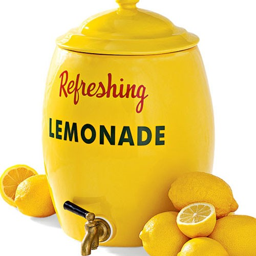 lemonade crockery