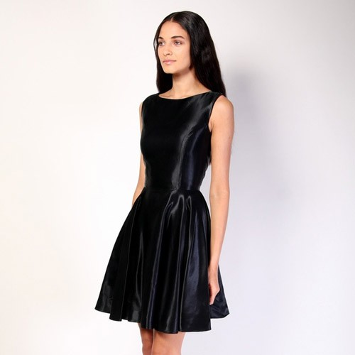 Christian Siriano Metallic Dress