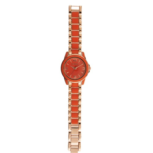 wildlife by heidi klum silicone bracelet watch