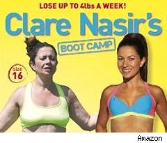 Clare Nasir's Boot Camp dvd