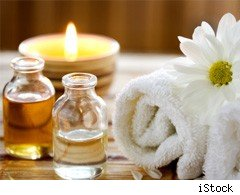 Aromatherapy oils and burner